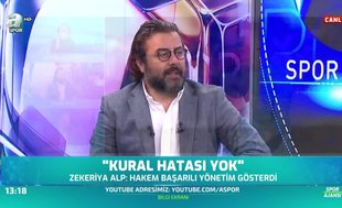 """""""Zekeriya Alp'in kural hatası açıklaması acemilik göstergesidir!"""""""