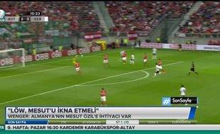 """Wenger: """"Löw, Mesut'u ikna etmeli"""""""