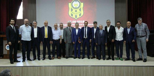 Evkur Yeni Malatyaspor'da seçimli olağan genel kurul 2 Haziran'da yapılacak