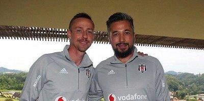 Beşiktaş'ta Guti ve İlhan Mansız göreve başladı