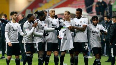 Besiktas beat Kayserispor 2-0 to move top of Super Lig