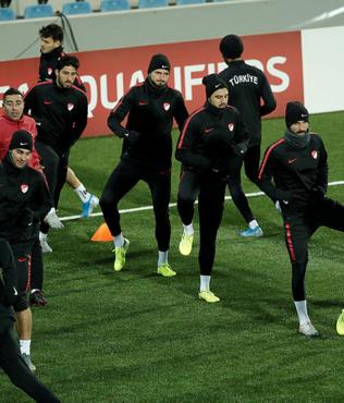 A Milli Takım Andorra maçına hazır