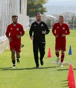 Sivasspor'da F.Bahçe maçı hazırlıkları sürdü