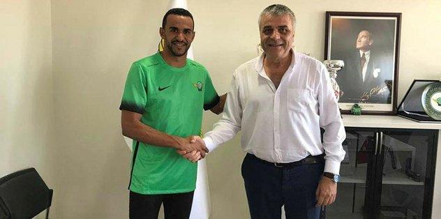 Akhisar, Serginho ile sözleşme imzaladı
