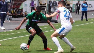 Denizlispor-BB Erzurumspor: 2-3 (MAÇ SONUCU-ÖZET)