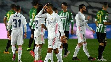 Real Madrid yara aldı!