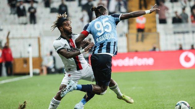 Beşiktaş - Adana Demirspor maçı sonrası kırmızı kart çıktı! Valentin Rosier...