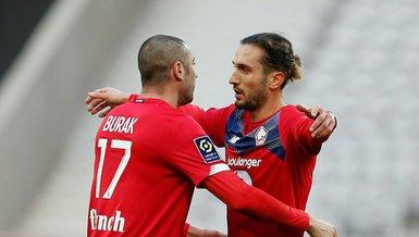 Burak Yılmaz'ın sakatlığı sürüyor! Golcü oyuncu Lille'in Lorient maçı kadrosunda yer almadı