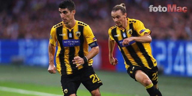 Beşiktaş Yunan yıldızla gizlice görüştü! Derbiye davet edildi