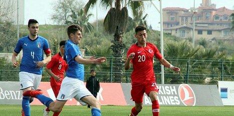 U17 Futbol Milli Takımı İtalya'ya 2-0 mağlup oldu