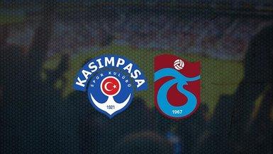 CANLI   Kasımpaşa - Trabzonspor maçı ne zaman? Saat kaçta ve hangi kanalda canlı yayınlanacak?   Süper Lig