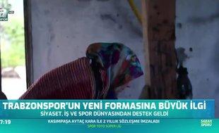 """Trabzonspor'un """"keşan"""" motifli formasına siyaset ve spor dünyasından destek"""