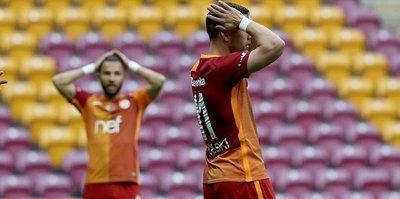 Galatasaray Arena'da dağıldı