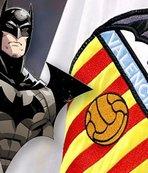 Bir garip 'yarasa' kavgası! Batman - Valencia...