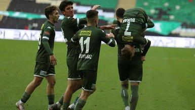 Bursaspor - Akhisarspor: 3-2 (MAÇ SONUCU - ÖZET)