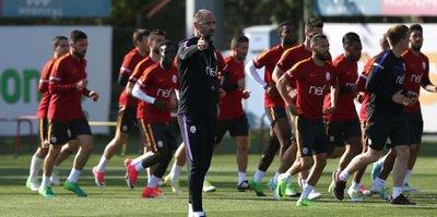 Galatasaray, Kasımpaşa'ya hazırlanıyor
