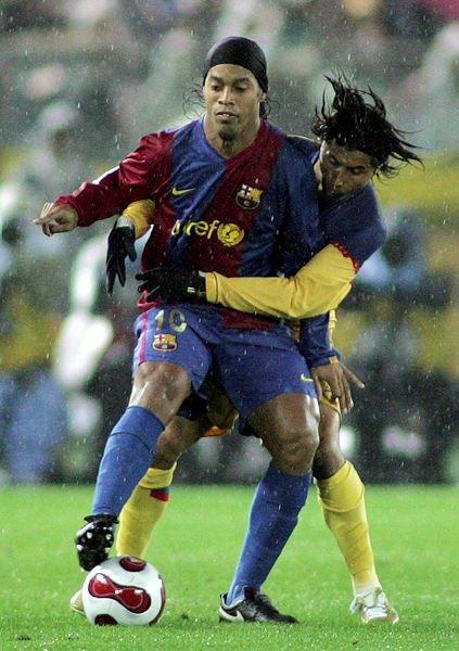 Ronaldinho futbola veda etti