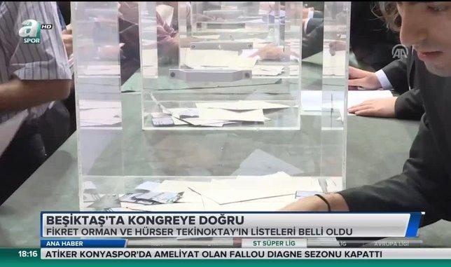 Beşiktaş'ta kongreye doğru