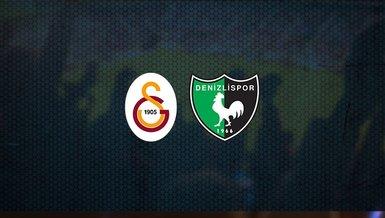 Galatasaray - Denizlispor maçı ne zaman, saat kaçta ve hangi kanalda canlı yayınlanacak? | Süper Lig