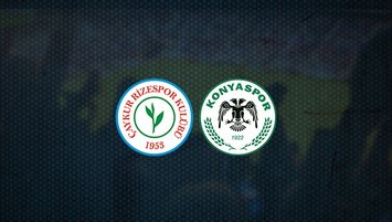 Rizespor - Konyaspor maçı saat kaçta ve hangi kanalda?