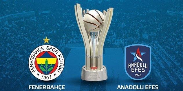 Fenerbahçe - Anadolu Efes maçı ne zaman, saat kaçta?