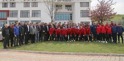 Trabzonspor'da barbekü partisi yapıldı