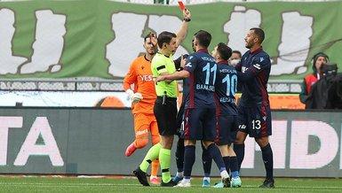 SON DAKİKA TRABZONSPOR HABERLERİ: Vitor Hugo kırmızı kart gördü! İşte o pozisyon