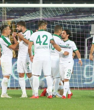 Denizlispor, deplasmanda Osmanlıspor'u 2-0 mağlup etti