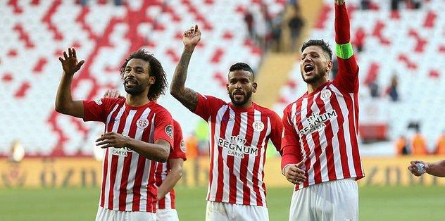 Antalyaspor çok mutlu