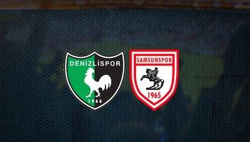 Denizlispor-Samsunspor maçı ne zaman, saat kaçta, hangi kanalda?
