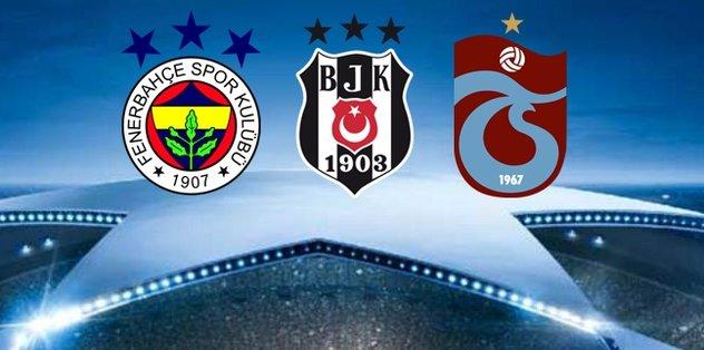 UEFA'dan Fenerbahçe, Beşiktaş ve Trabzonspor kararı!
