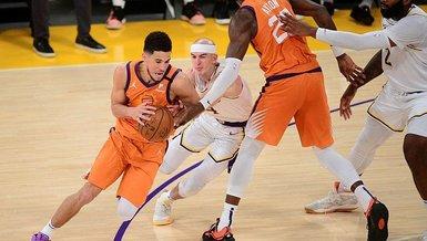 NBA'de Phoenix Suns seride durumu 2-2'ye getirdi | Los Angeles Lakers 92-100 Phoenix Suns