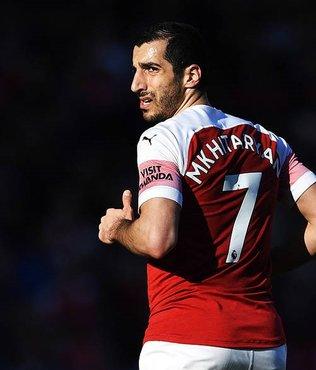 Arsenal'in yıldızı Henrikh Mkhitaryan finalde forma giyemeyecek