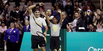 Federer bu kez Afrika için kazandı