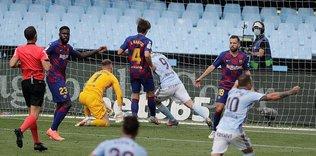 Barça'ya son dakika golü!