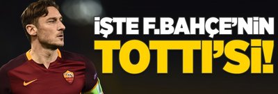 İşte Fenerbahçe'nin Totti'si!