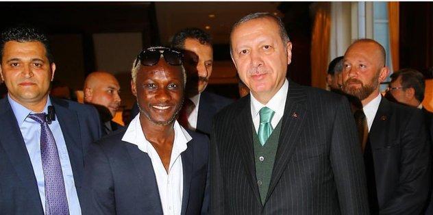 Erdoğan'a Yattara ilgisi