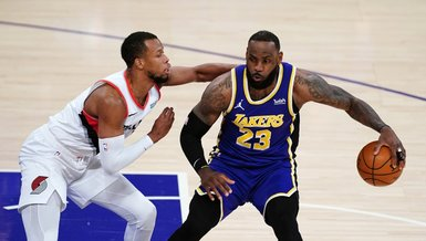 Los Angeles Lakers Portland Trail Blazers'ı devirmeyi başardı
