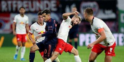 Bayern Münih Leipzig deplasmanından 1 puanla döndü
