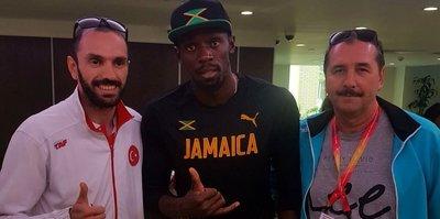 Usain Bolt'tan Ramil Guliyev'e tebrik