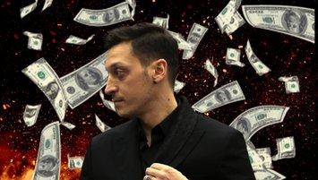 Dudak uçuklatan rakam! Mesut Özil'den flaş hamle...
