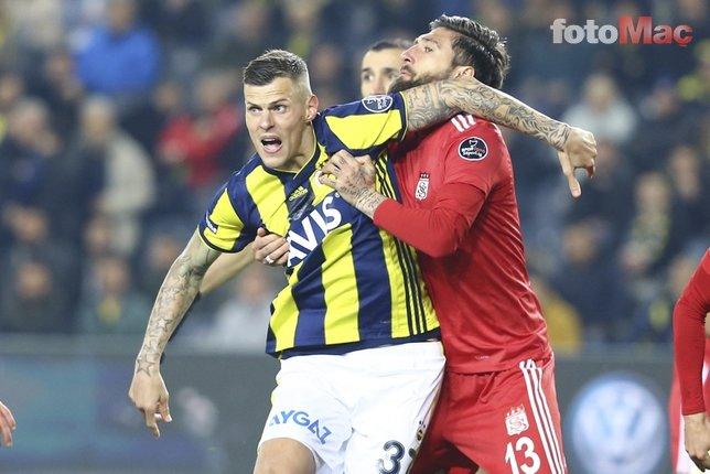 Fenerbahçe - Sivasspor maçından kareler