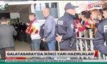 Galatasaray'a Antalya'da coşkulu karşılama