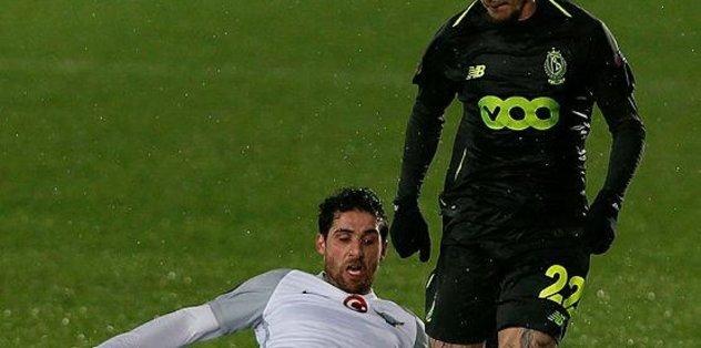 Akhisarspor Standard Liege ile yenişemedi!