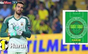 Fenerbahçe'nin BB Erzurumspor karşısındaki ilk 11'i