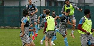 Trabzonspor'da Göztepe mesaisi sürüyor