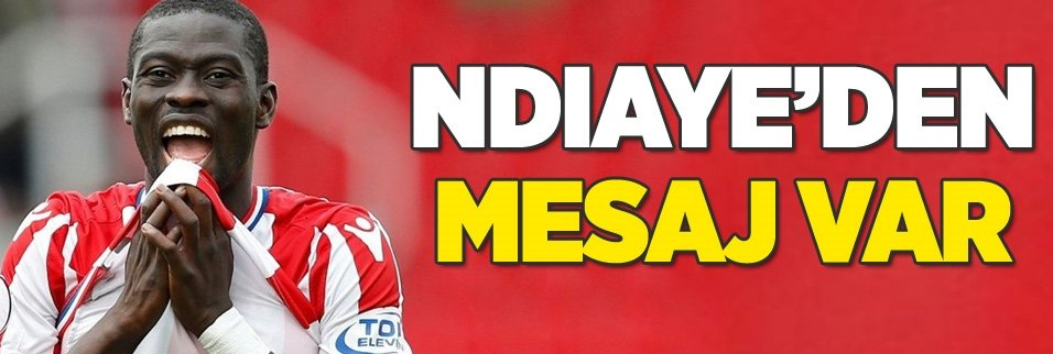 Badou Ndiaye'den Galatasaray mesajı