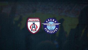Altınordu - Adana Demirspor maçı saat kaçta ve hangi kanalda?
