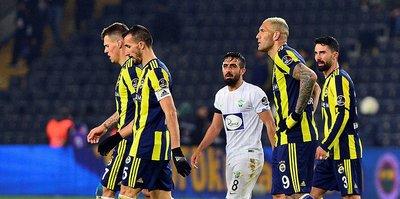 Fenerbahçe, geri dönemiyor
