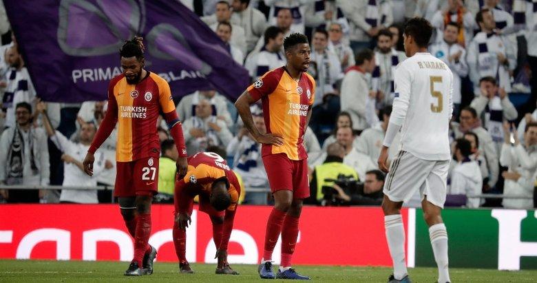 Real Madrid maçını böyle gördüler! Falcao'nun Galatasaray'la rüyası bitti